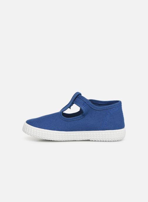 Sneakers Cienta Foliv Azzurro immagine frontale