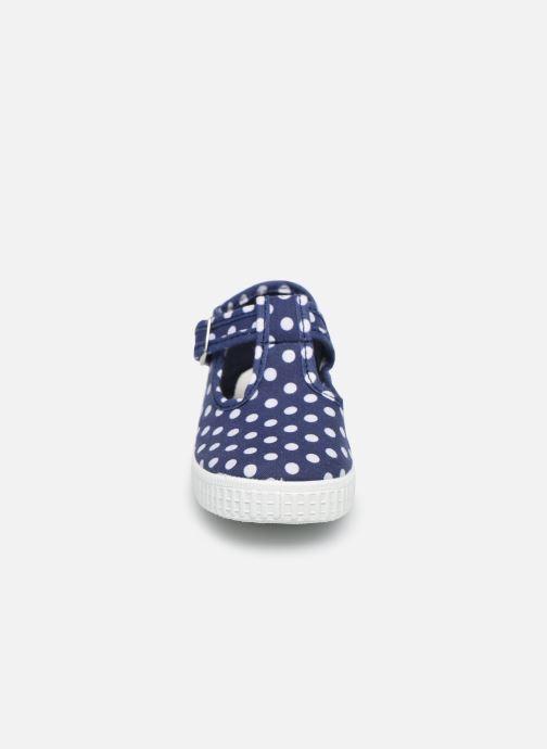 Baskets Cienta Foliv Bleu vue portées chaussures