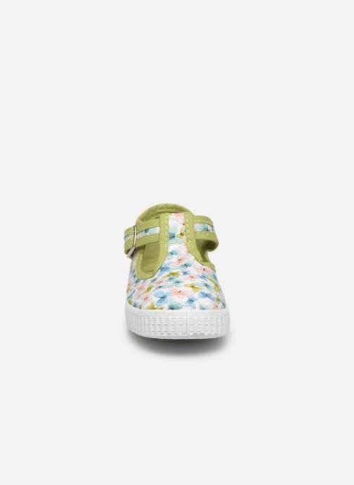 Baskets Cienta Foliv Multicolore vue portées chaussures