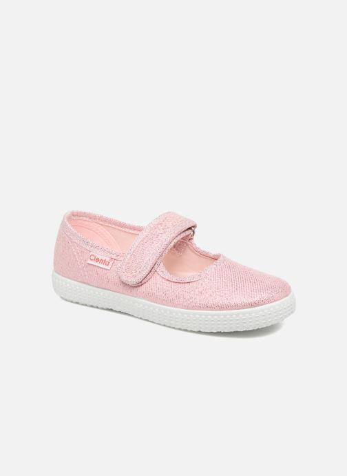 Ballerinaer Cienta Darwina Pink detaljeret billede af skoene