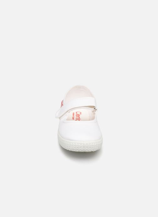 Ballerine Cienta Darwina Bianco modello indossato