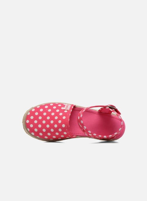 Sandals Cienta Margot Pink view from the left