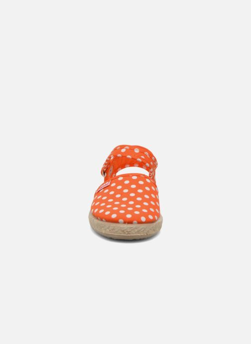 Sandals Cienta Margot Orange model view