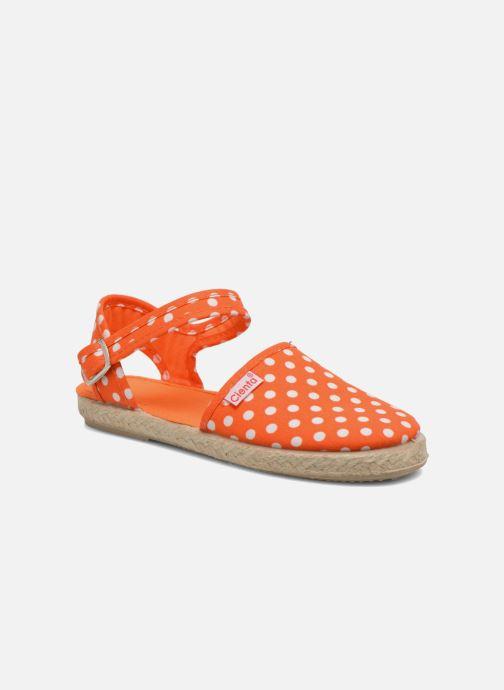 Sandals Cienta Margot Orange detailed view/ Pair view