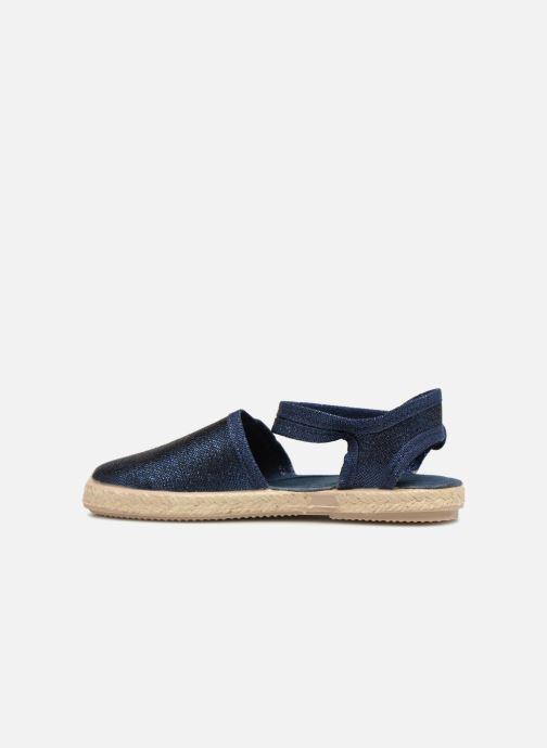 Sandales et nu-pieds Cienta Margot Bleu vue face