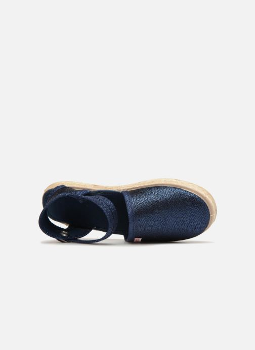Sandales et nu-pieds Cienta Margot Bleu vue gauche