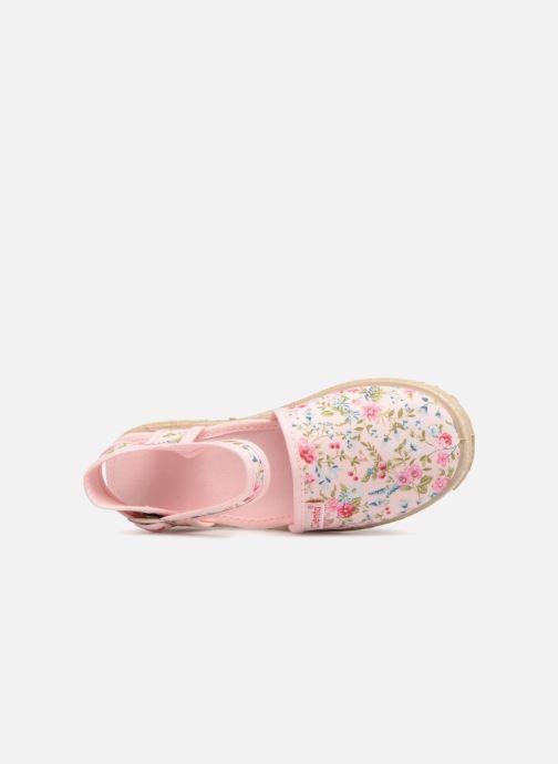 Sandales et nu-pieds Cienta Margot Rose vue gauche