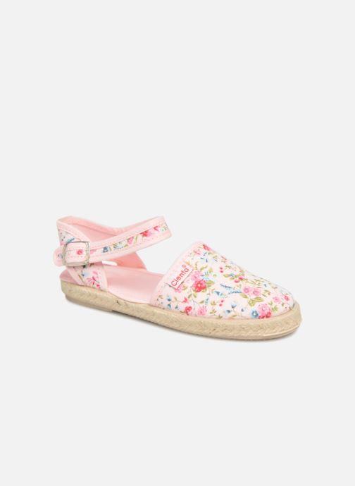 Sandales et nu-pieds Cienta Margot Rose vue détail/paire