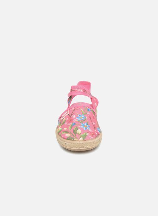 Sandals Cienta Margot Pink model view