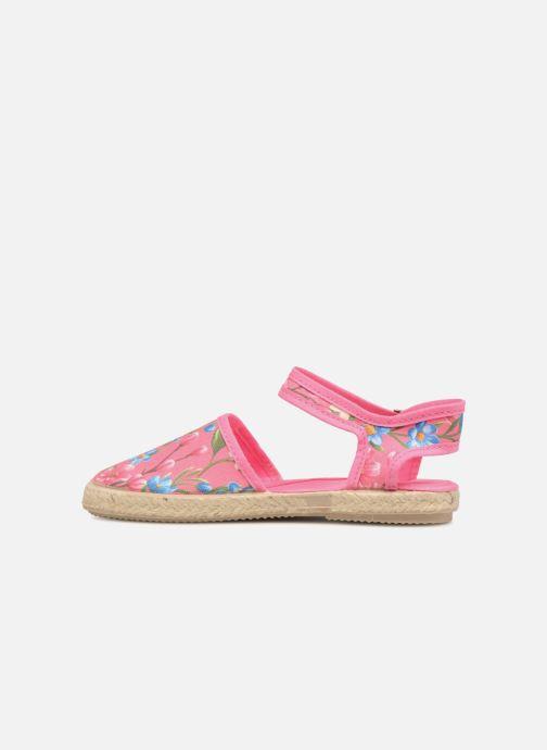 Sandales et nu-pieds Cienta Margot Rose vue face