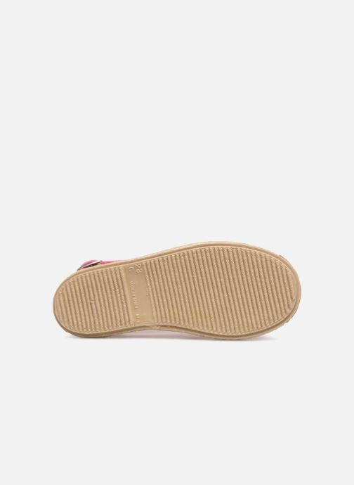 Sandales et nu-pieds Cienta Margot Rose vue haut