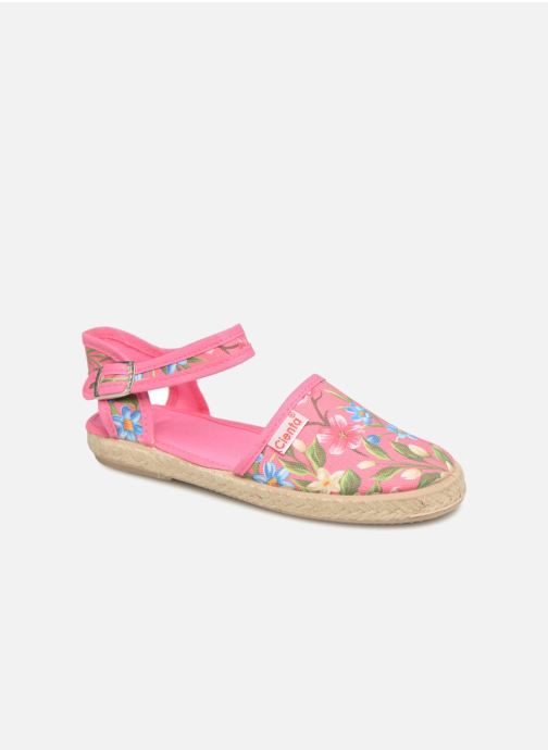 Sandals Cienta Margot Pink detailed view/ Pair view