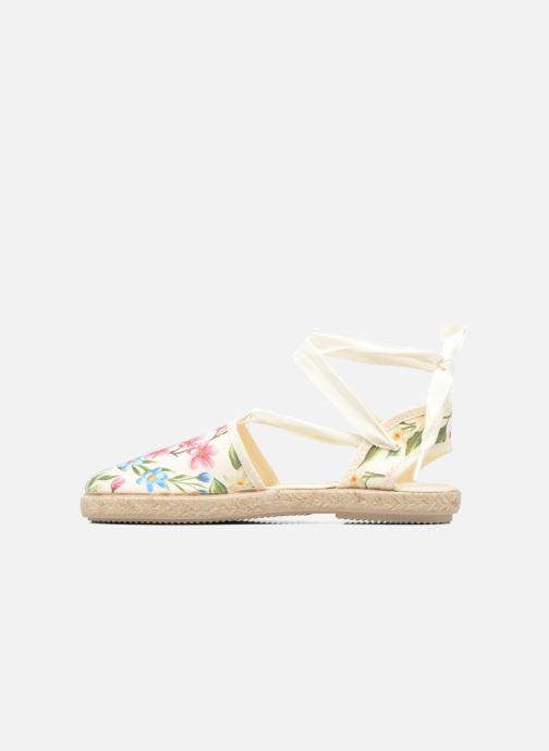 Sandales et nu-pieds Cienta Alicia Blanc vue face