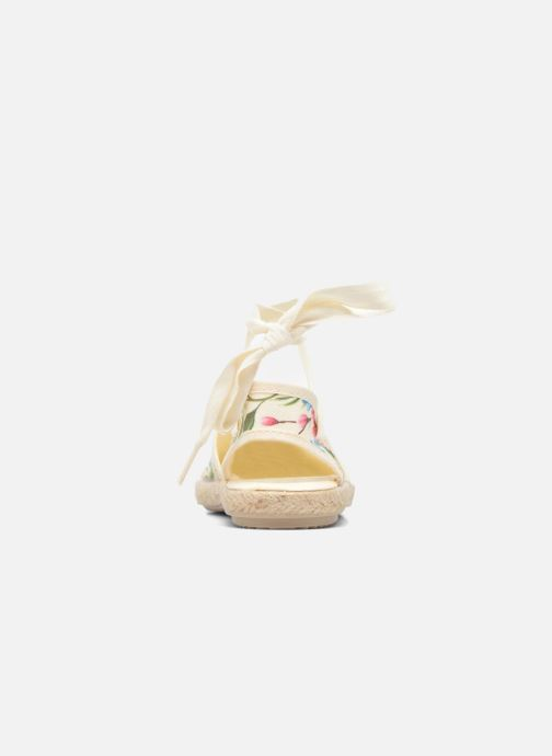 Sandales et nu-pieds Cienta Alicia Blanc vue droite
