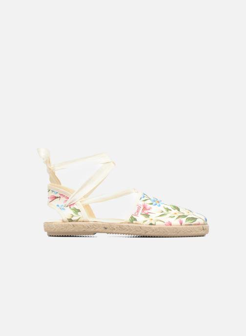 Sandales et nu-pieds Cienta Alicia Blanc vue derrière