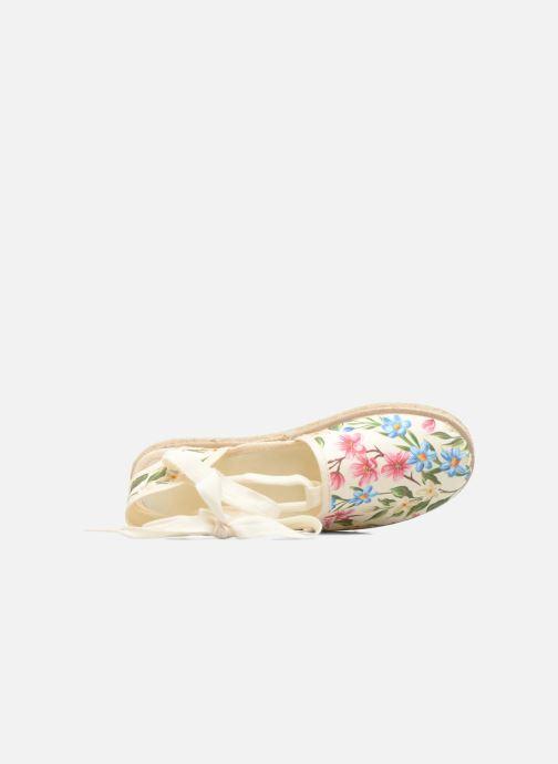 Sandales et nu-pieds Cienta Alicia Blanc vue gauche
