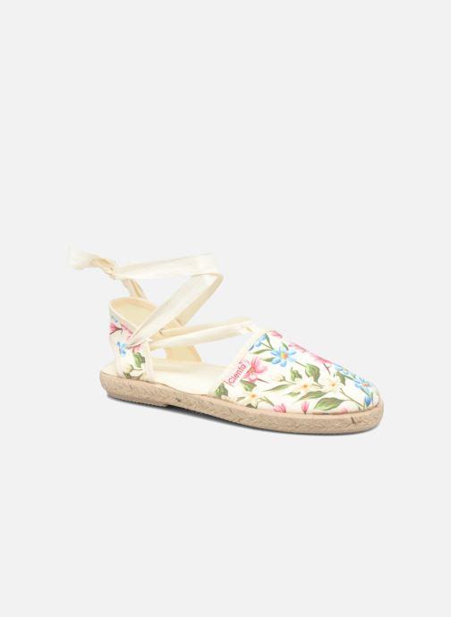 Sandales et nu-pieds Cienta Alicia Blanc vue détail/paire