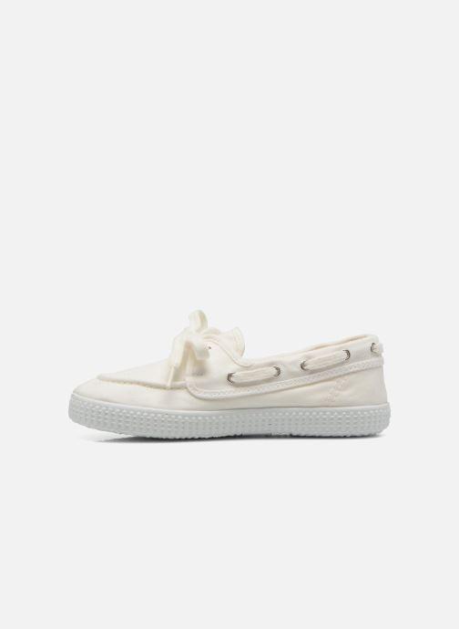 Zapatos con cordones Cienta Martino Blanco vista de frente
