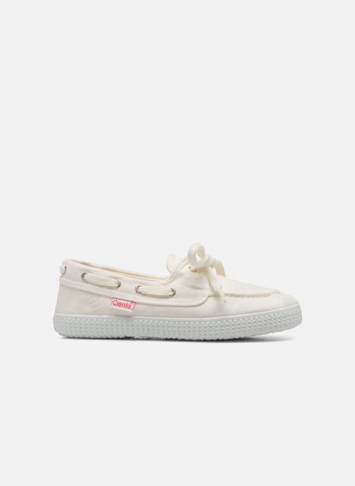 Chaussures à lacets Cienta Martino Blanc vue derrière