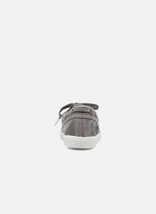 Chaussures à lacets Cienta Martino Gris vue droite