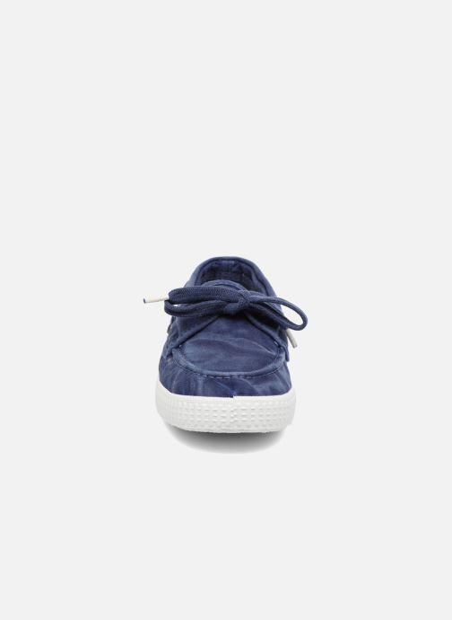 Schnürschuhe Cienta Martino blau schuhe getragen