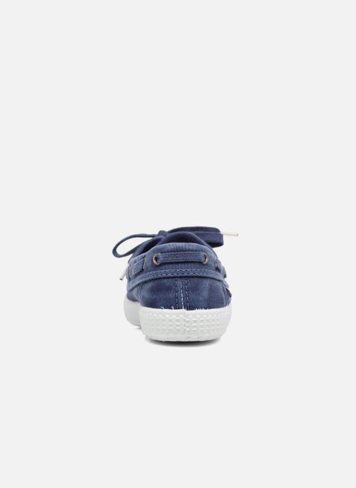Scarpe con lacci Cienta Martino Azzurro immagine destra