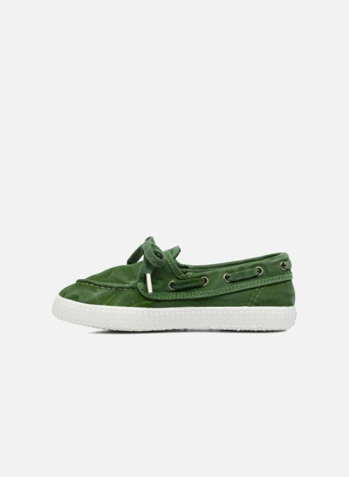 Zapatos con cordones Cienta Martino Verde vista de frente