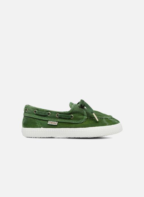 Zapatos con cordones Cienta Martino Verde vistra trasera