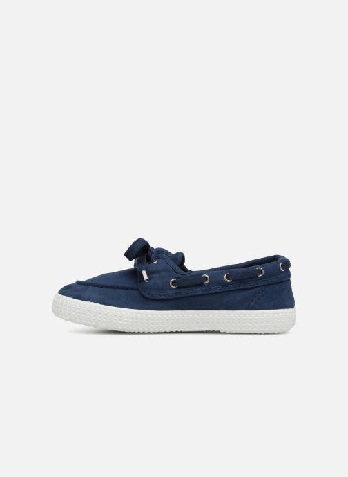 Zapatos con cordones Cienta Martino Azul vista de frente