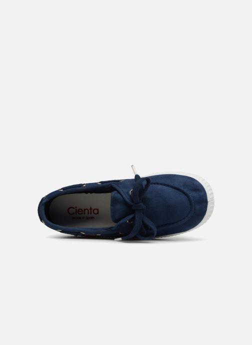 Scarpe con lacci Cienta Martino Azzurro immagine sinistra
