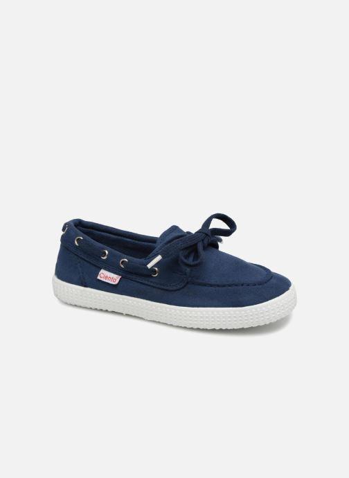 Chaussures à lacets Cienta Martino Bleu vue détail/paire
