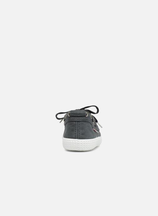 Zapatos con cordones Cienta Martino Gris vista lateral derecha