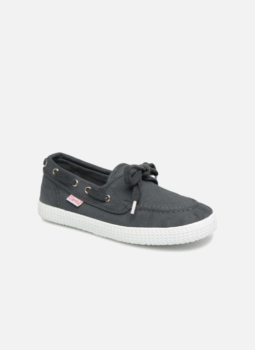 Zapatos con cordones Cienta Martino Gris vista de detalle / par