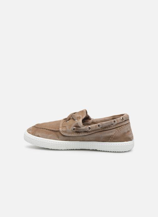 Chaussures à lacets Cienta Martino Beige vue face