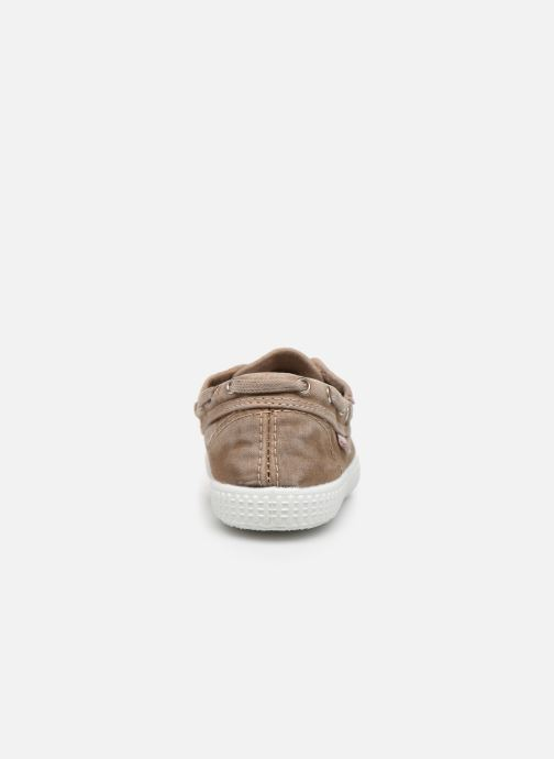 Lace-up shoes Cienta Martino Beige view from the right
