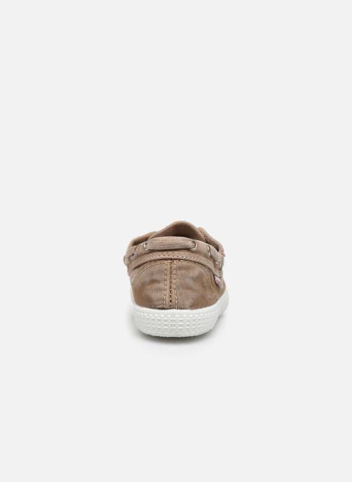 Chaussures à lacets Cienta Martino Beige vue droite