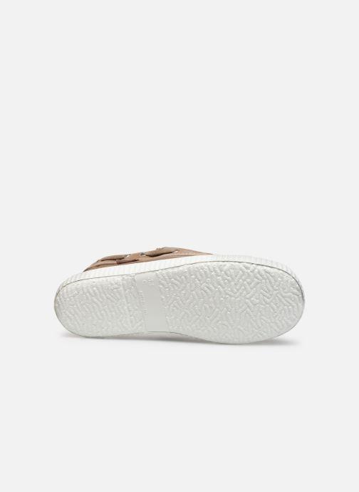 Chaussures à lacets Cienta Martino Beige vue haut