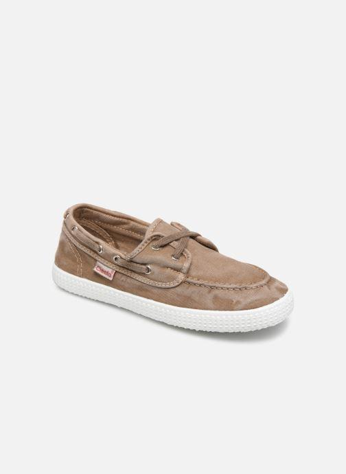 Zapatos con cordones Cienta Martino Beige vista de detalle / par