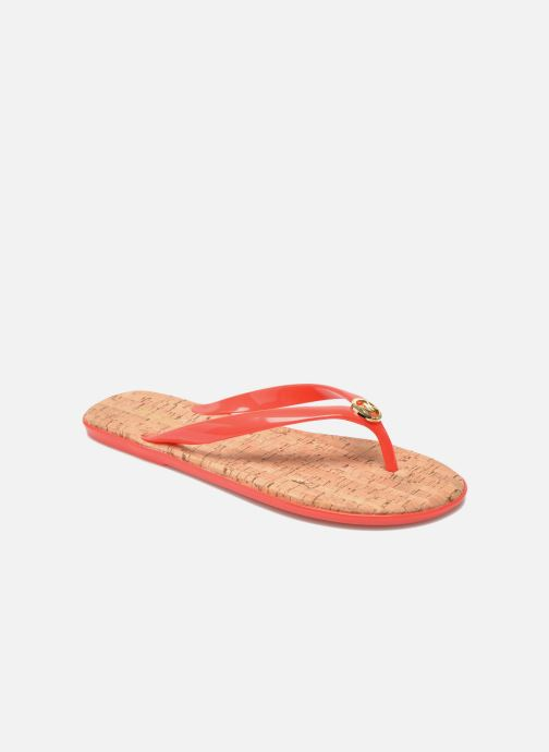 Slippers Michael Michael Kors Jet set MK jelly Oranje detail