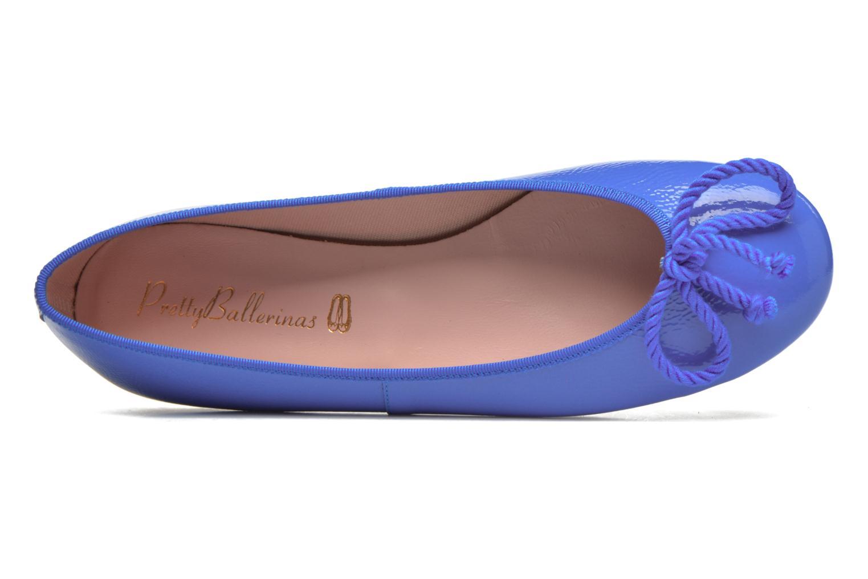 Ballerines Pretty Ballerinas Rosario thick lace Bleu vue gauche