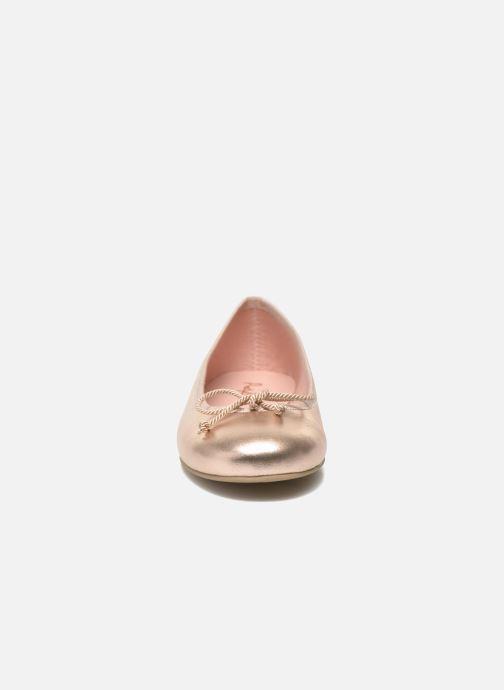 Ballerines Pretty Ballerinas Rosario Or et bronze vue portées chaussures