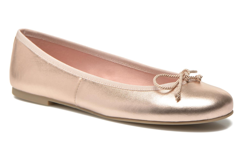 Ballerines Pretty Ballerinas Rosario Or et bronze vue détail/paire
