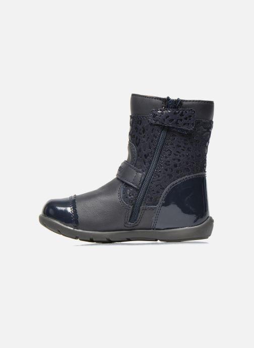 Bottines et boots Geox B Kaytan G.A 2 Bleu vue face