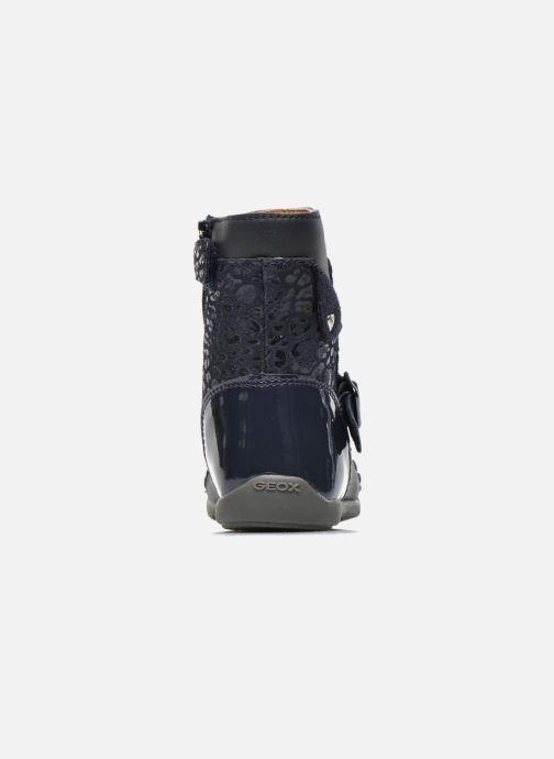 Bottines et boots Geox B Kaytan G.A 2 Bleu vue droite