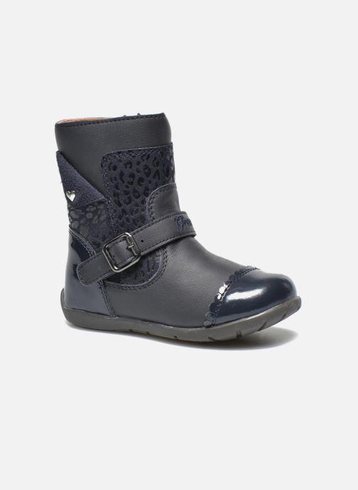 Bottines et boots Geox B Kaytan G.A 2 Bleu vue détail/paire