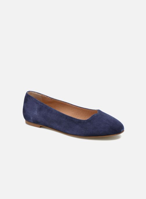 Ballet pumps Made by SARENZA Colette en terrasse #4 Blue view from the right