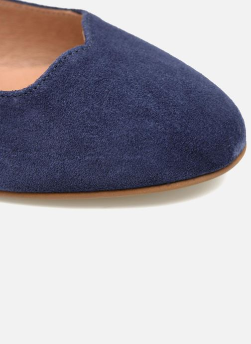 Ballet pumps Made by SARENZA Colette en terrasse #4 Blue view from above