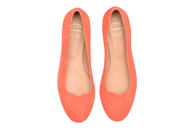 Ballerinas Made by SARENZA Colette en terrasse #4 orange schuhe getragen