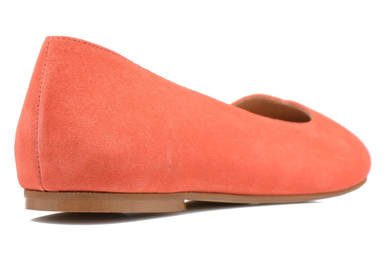 Ballerinas Made by SARENZA Colette en terrasse #4 orange ansicht von vorne