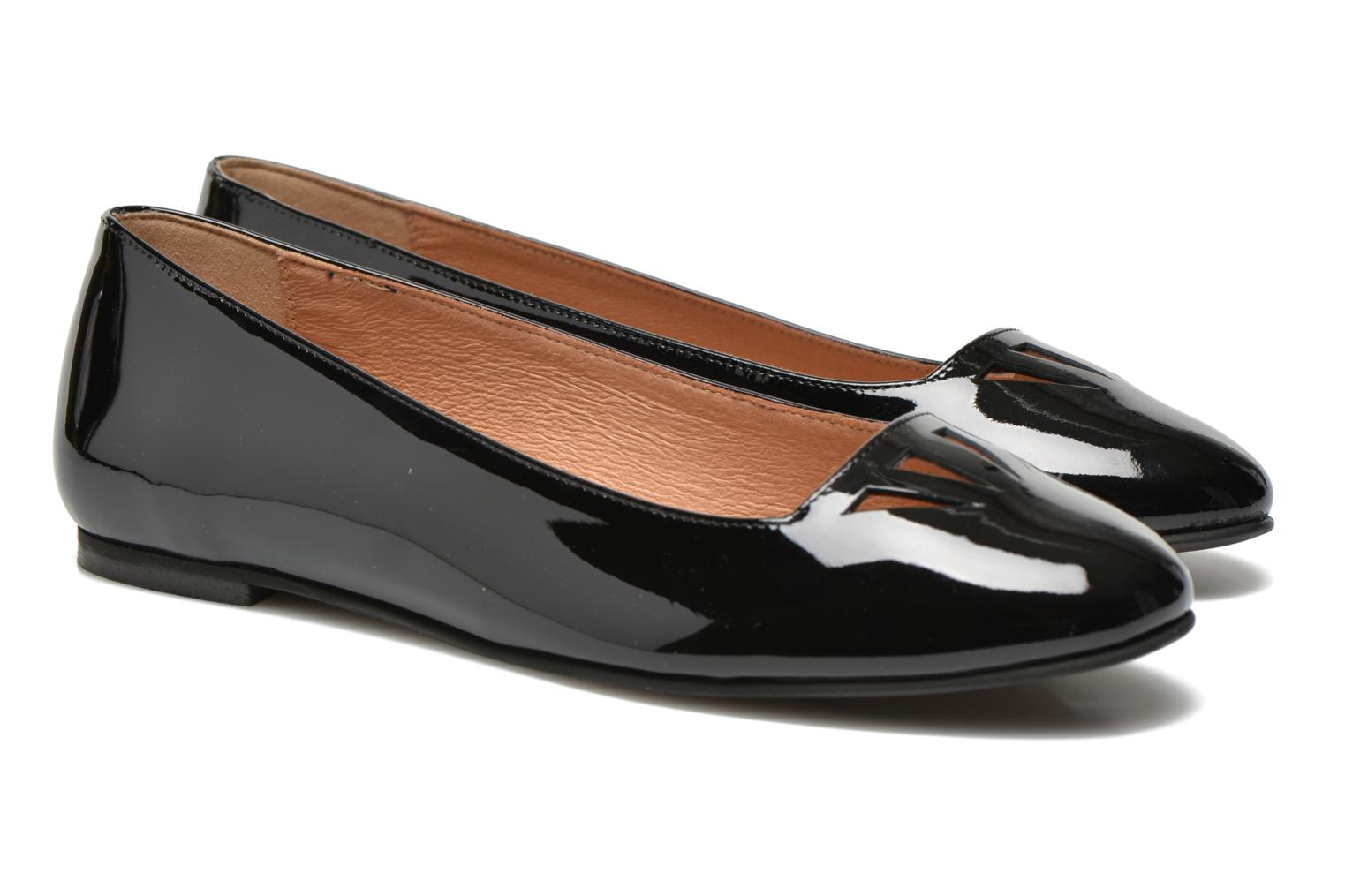 Ballet pumps Made by SARENZA Colette en terrasse #1 Black view from the right